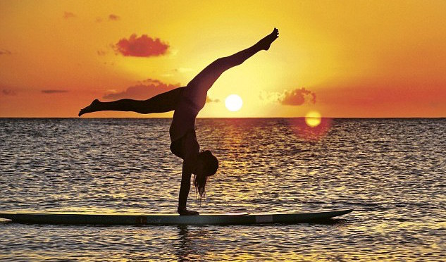 how to learn yoga and surfing