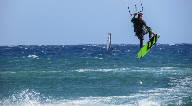 kitesurfing in portugal