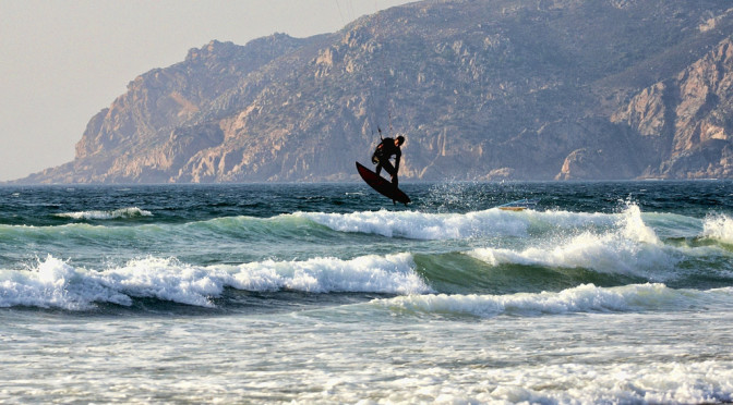 surfing in guincho