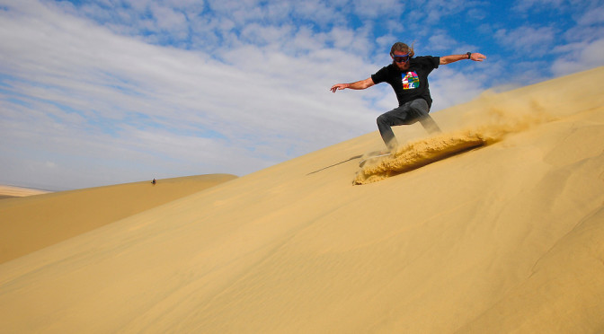 The Fun of Sandboarding in Egypt