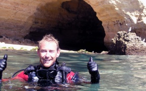 Dive guru in Lagoa, Portugal
