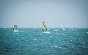 Windsurf guru in Phan Thiet, Vietnam